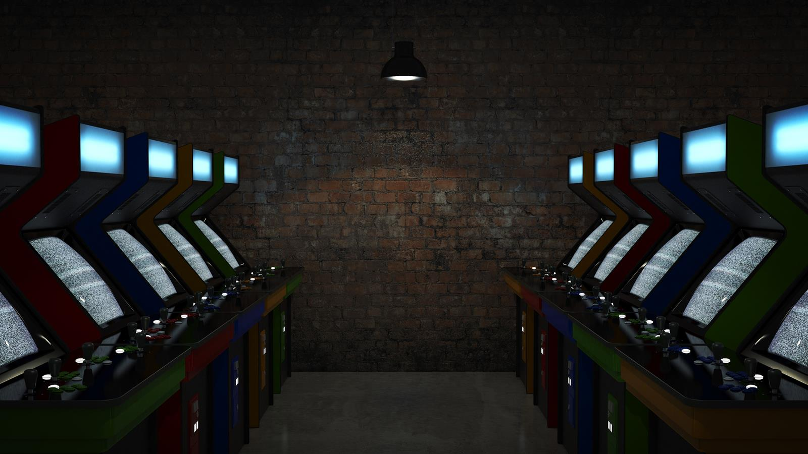 Arcade Cabinet Lineup