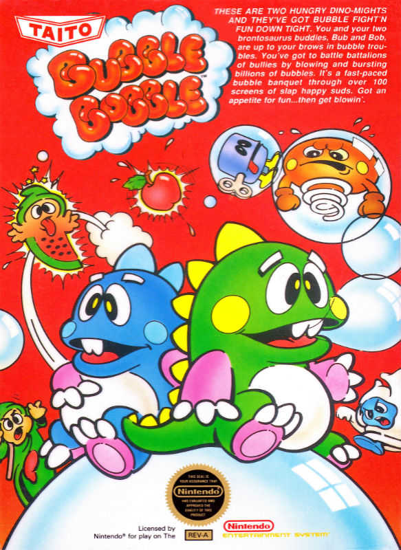 Bubble Bobble Box Art