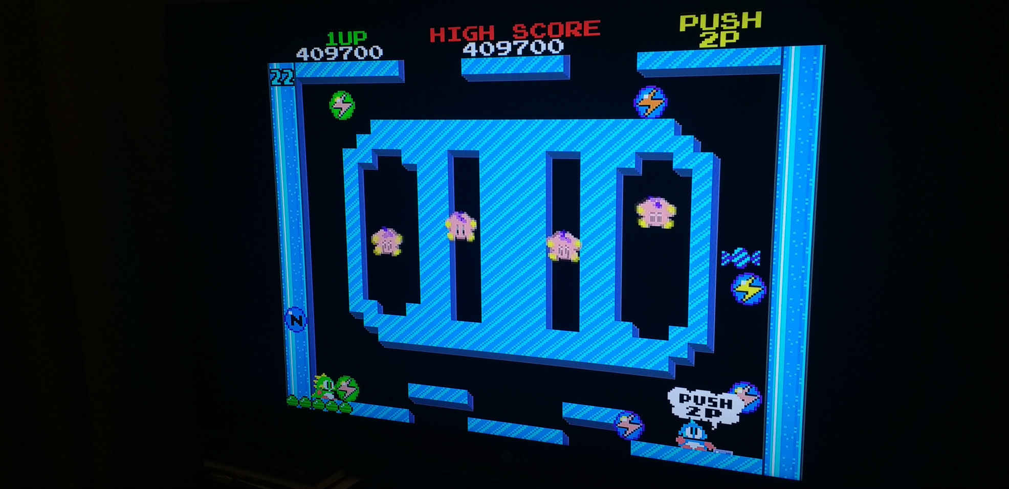 Bubble Bobble Map