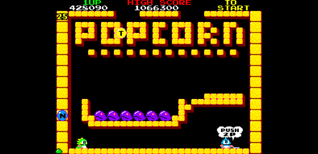 Bubble Bobble - Popcorn Level