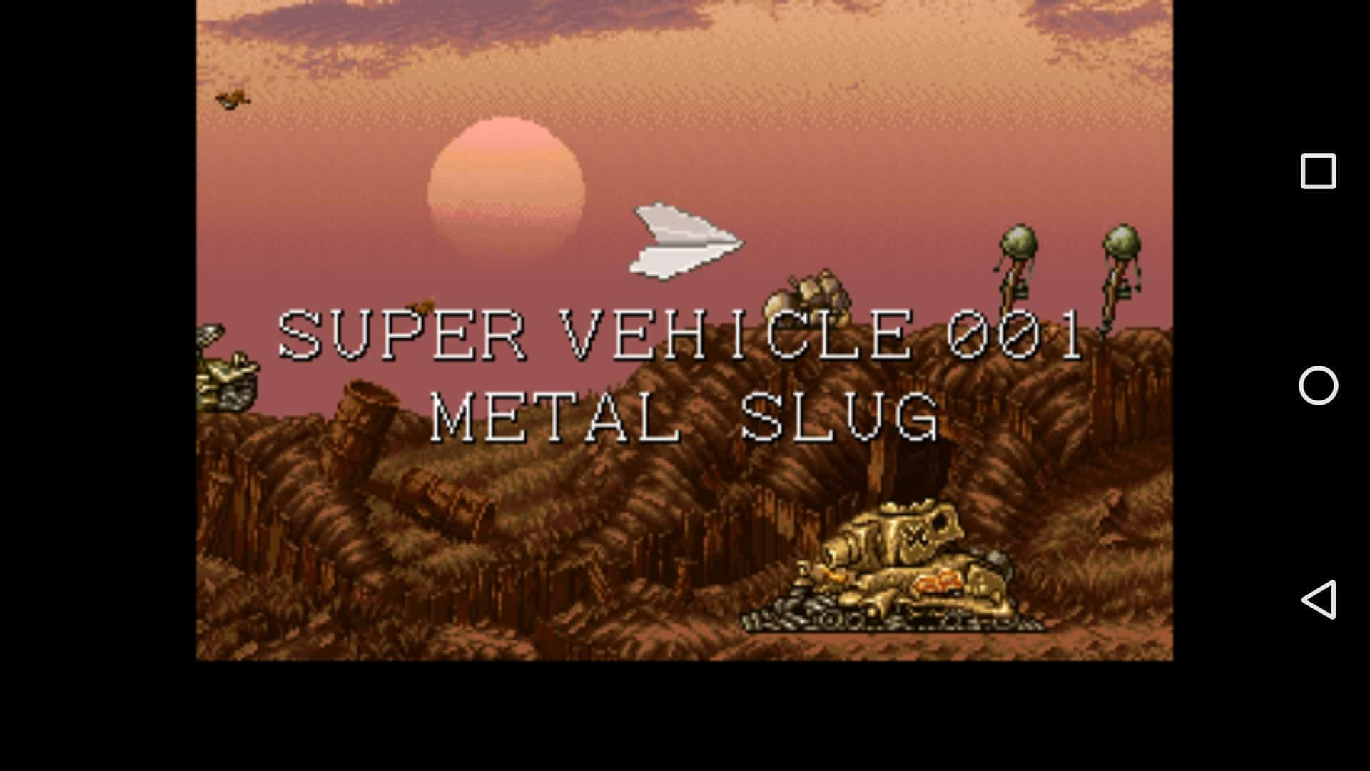Metal Slug 1 for MAME