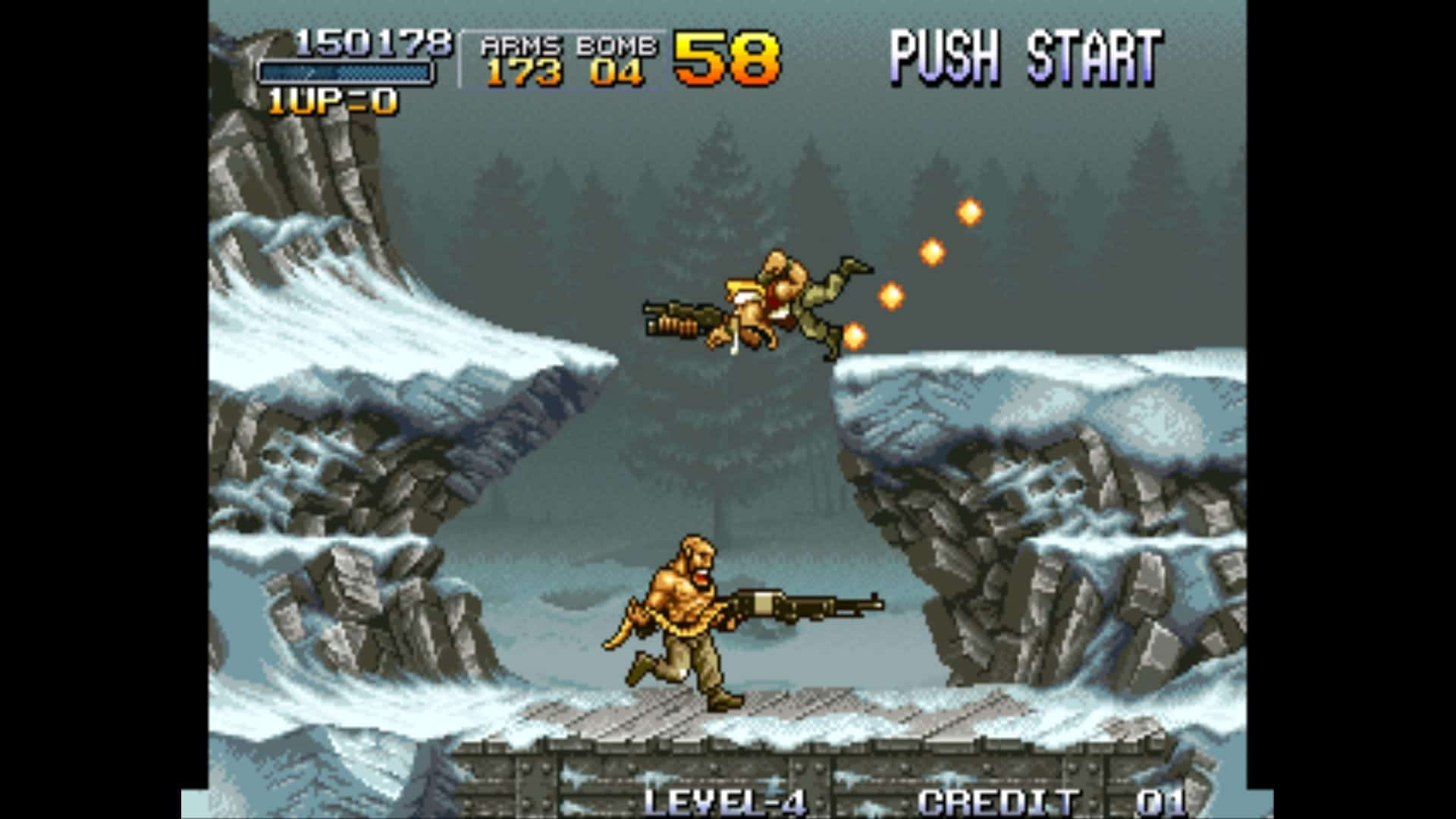 Gameplay Screenshot from Metal Slug 1 for MAME